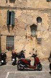 Forntida en som är modern i Siena Royaltyfri Bild