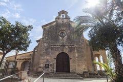 Forntida eremitboning i Roda de Bera, Costa Dorada, Catalonia, Spanien Arkivfoton