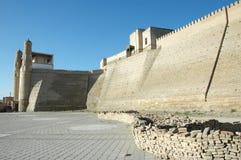 forntida fästningåterställandearbete royaltyfria foton
