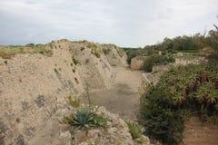 Forntida fästning Royaltyfria Bilder
