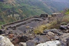 Forntida fästning av Gamla Arkivbild