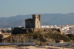 forntida fästning tarifa arkivbild
