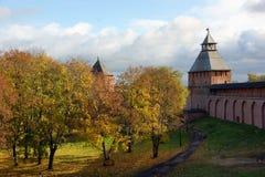 forntida fästningryss Royaltyfria Bilder