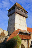 forntida fästningtorn Royaltyfri Fotografi