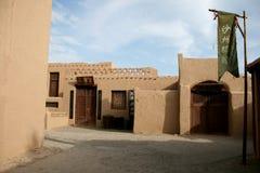 forntida by för hus för porslindunhuang jord Fotografering för Bildbyråer