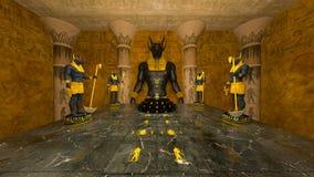 forntida fördärvar royaltyfri illustrationer
