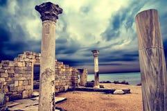 Forntida fördärvar Arkivfoton