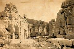forntida fördärvar royaltyfri bild