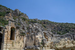 Forntida fördärvar antikviteten royaltyfri bild