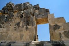 Forntida fördärvar antikviteten arkivfoto