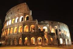 forntida fördärvar av Colosseum i Rome Royaltyfria Bilder