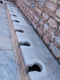 Forntida fördärvar av gammal grekisk stad av Ephesus Royaltyfri Bild