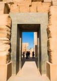 Forntida fördärvar av Karnak i Luxor fotografering för bildbyråer