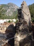 Forntida fördärvar av Olimpos Royaltyfri Foto
