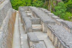 Forntida fördärvar i Belize arkivfoto
