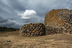 Forntida fördärvar i Sardinia, Italien Royaltyfri Fotografi