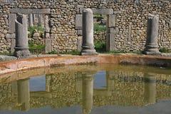 Marocko Volubilis Royaltyfri Fotografi