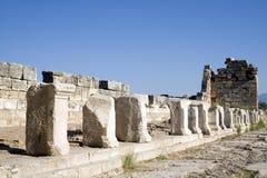 forntida fördärvar kalkonen royaltyfri foto