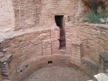 Forntida fördärvar på Mesa Verde National Park Arkivbild