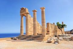 forntida fördärvar tempelet Royaltyfri Bild