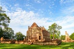 Forntida fördärvar templet Royaltyfri Foto