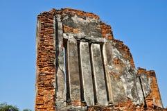 forntida förstörd lokal Arkivfoto