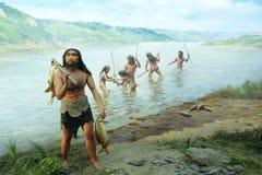 Forntida fiskeplats Arkivbild