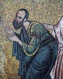 Forntida frescoe i helgonet Sophia Cathedral, Kiev, Ukraina Royaltyfria Bilder