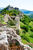 forntida fästning Arkivfoto