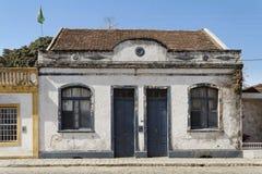 forntida gör sul för sao för det facadefrancisco huset Arkivbilder