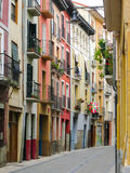 Forntida gata utan folk Royaltyfri Foto
