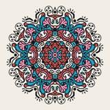 Forntida geometrisk mandala royaltyfri bild