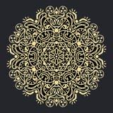 Forntida geometrisk mandala royaltyfri fotografi