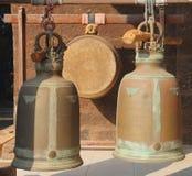 forntida gongs Arkivfoton