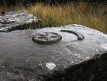 forntida grav Fotografering för Bildbyråer