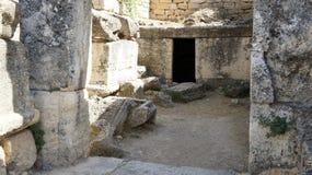 forntida gravar Royaltyfri Bild