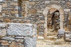 forntida greece fördärvar Arkivbilder