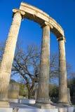 forntida greece olympic lokal Fotografering för Bildbyråer