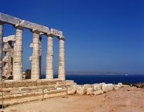forntida greece tempel Arkivbild