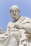 forntida grekisk filosofplaton arkivbild