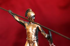 forntida grekisk krigare Royaltyfri Foto