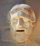 forntida grekisk maskering Arkivbilder