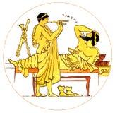 forntida grekisk musik Arkivfoton
