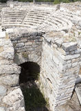 forntida grekisk theatre Arkivbild