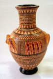 forntida grekisk vase Royaltyfri Bild