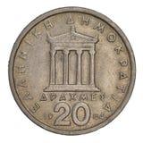 forntida grekiskt parthenontempel Royaltyfri Foto