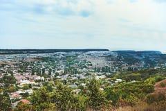 Forntida grottastad/stad av Crimean Tatar - Chufut-grönkål, Mangup-grönkål, Bakhchisaray Historiskt fördärvar och det fantastiska Arkivfoton