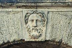 forntida gud Fotografering för Bildbyråer