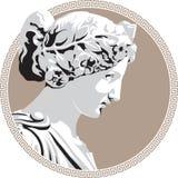 forntida gudinna Arkivbild