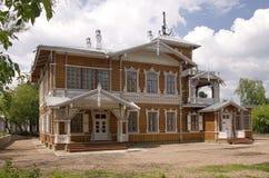 forntida härligt hus Royaltyfria Bilder